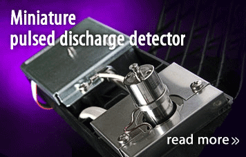 miniature pulsed discharge detector